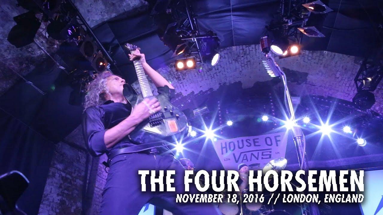 Metallica: The Four Horsemen (House of Vans Recap — London, England — 2016)
