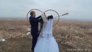 Свадьба в деревне.Самые трогательные моменты.
