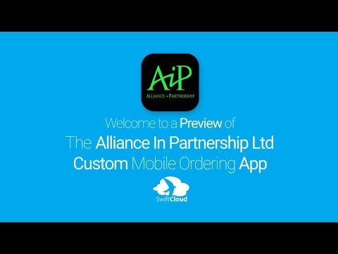 Alliance In Partnership - Mobile App Preview - ALL003W