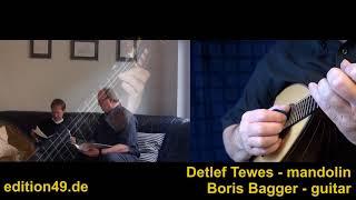 Bach Prelude A Minor Detlef Tewes Boris Bagger Mandolin Guitar Gitarre