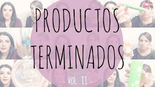 Belleza | Productos Terminados II Thumbnail