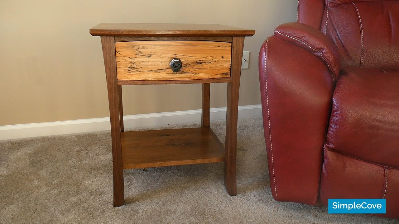 How To Make Custom Walnut End Tables How To Woodworking