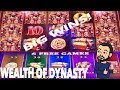 Wealth of Dynasty Bonus and Big Wins ! New Konami Slot