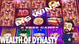 Video Wealth of Dynasty Bonus and Big Wins ! New Konami Slot download MP3, 3GP, MP4, WEBM, AVI, FLV September 2018
