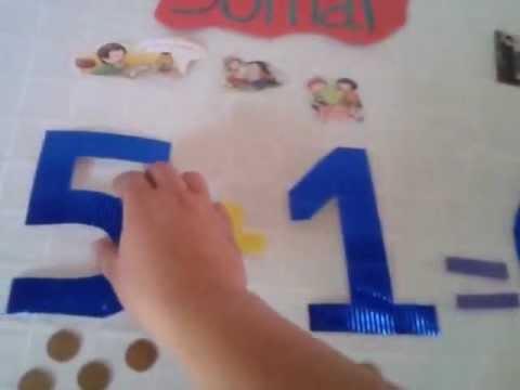 Aprendiendo a Sumar niños de 4 a 5 años. - YouTube