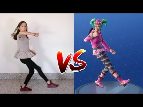 FORTNITE DANCE CHALLENGE IN REAL LIFE!! (All New Dances)