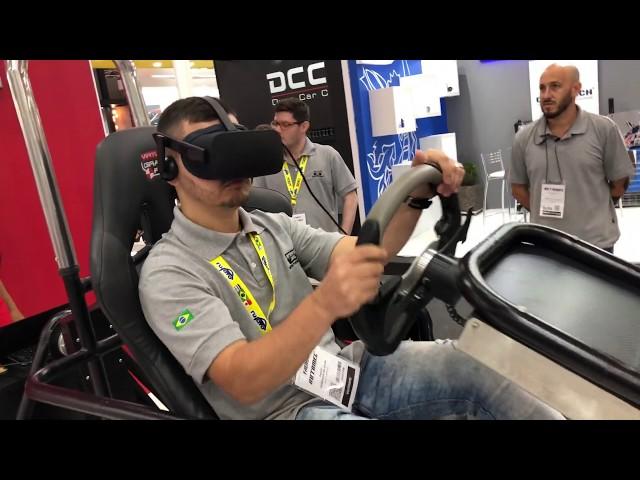 Simulador Motion SIM VR [Rally] - Tpats @ Automec 2019