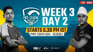 [Hindi] PMPL South Asia 2020 LIVE | PUBG Mobile Pro League 2020 LIVE STREAMING Week 3 Day 2