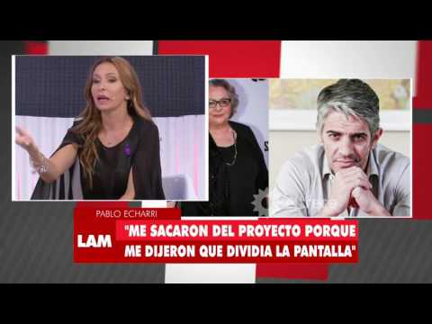 Ángel de Brito habló de Rita Cortese sobre la baja de Pablo Echarri en la ficción