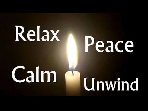 1hr candle mediation in HD with relaxing tranquil music Study, Relax, Meditate, Sleep