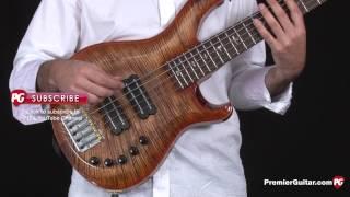 review demo prs guitars grainger 5 string bass
