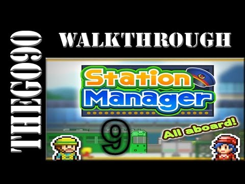 [Walkthrough] Station Manager [#9] So many customers again