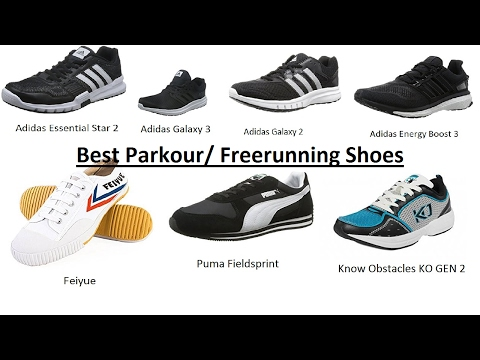 Best Parkour Freerunning Shoes 2017 YouTube