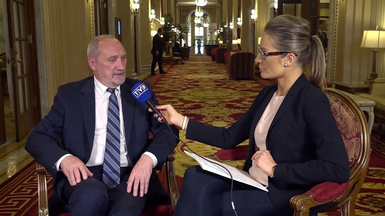 Wywiad ministra A. Macierewicza dla TVP
