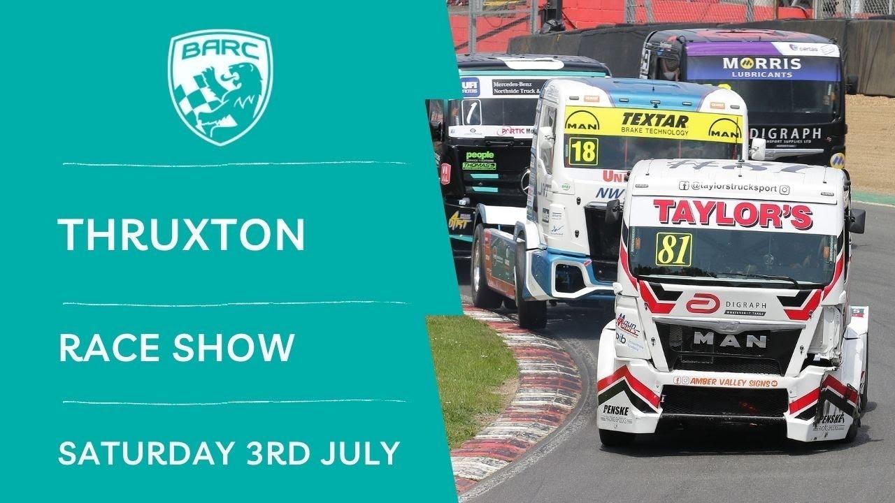 Download BARC LIVE   Race Show   Thruxton    July 3 2021