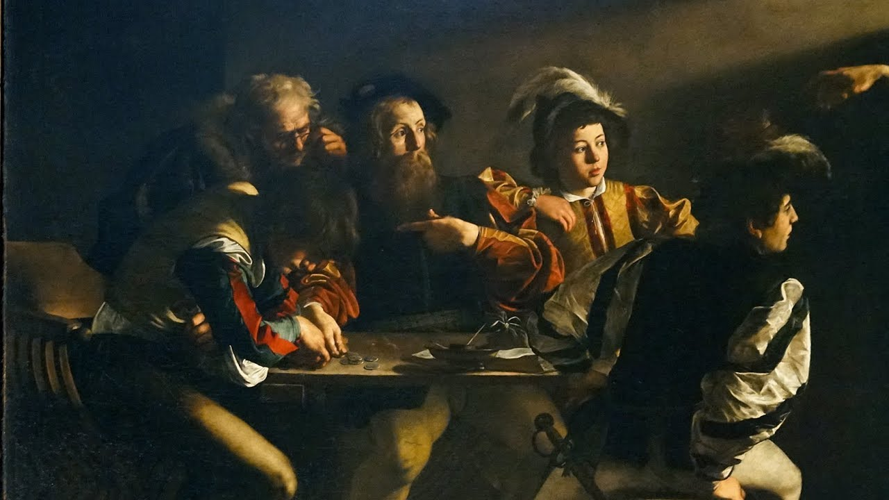 A moment of spiritual awakening: Caravaggio's Calling of ...
