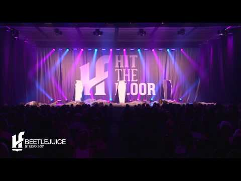 Beetlejuice - Troupe Spirale - Studio 360 - Hit The Floor 2014