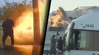 Scary Explosions That Everyone Walked Away From