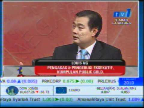 Public Gold Live Show Interview On TV1 Biz Malaysia 13 01 2010 5 30pm
