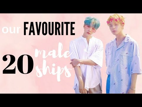 [KPOP] OUR 20 FAVOURITE MALE SHIPS