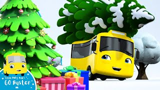 Buster's First Snowy Christmas - Go Buster the Yellow Bus | Nursery Rhymes & Cartoons | LBB Kids