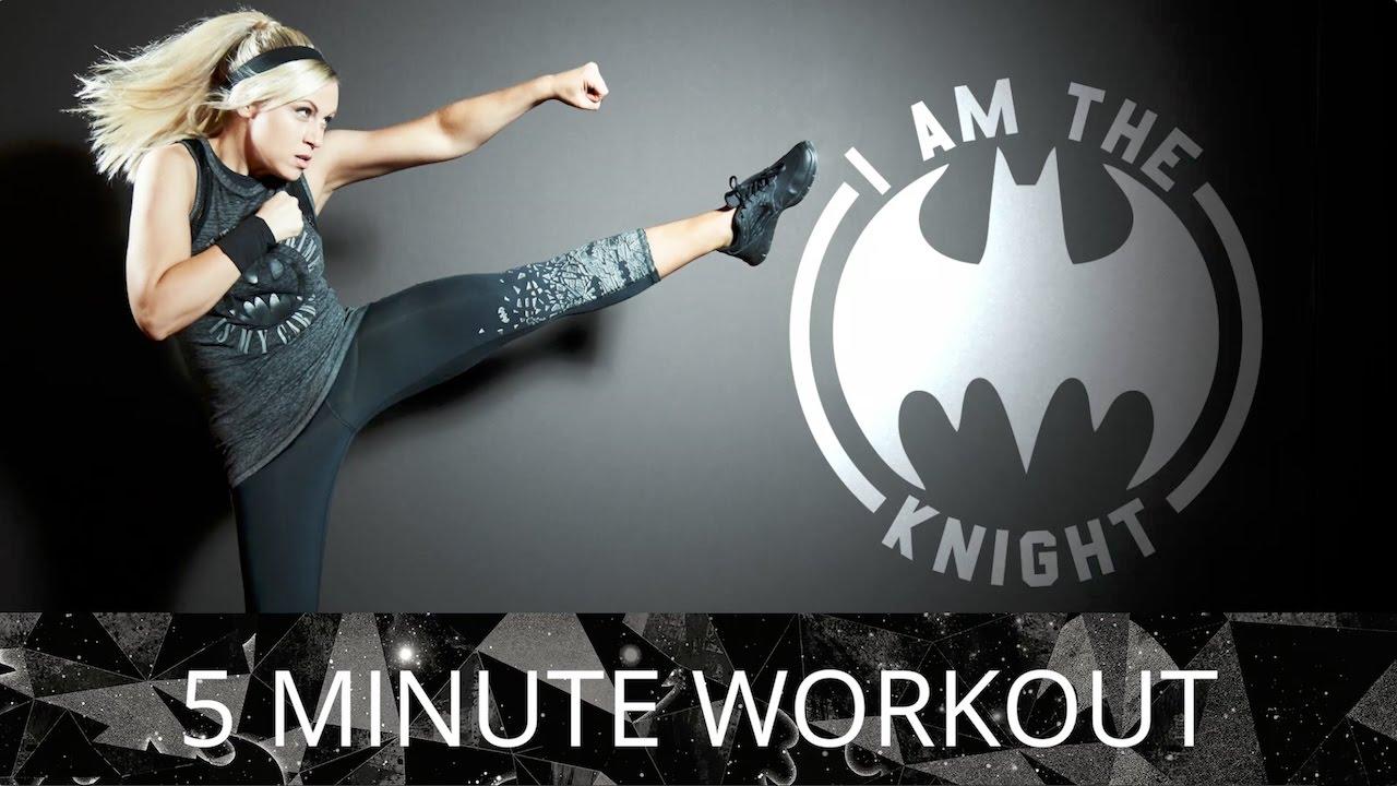 Superb DC By Her Universe Batman Workout