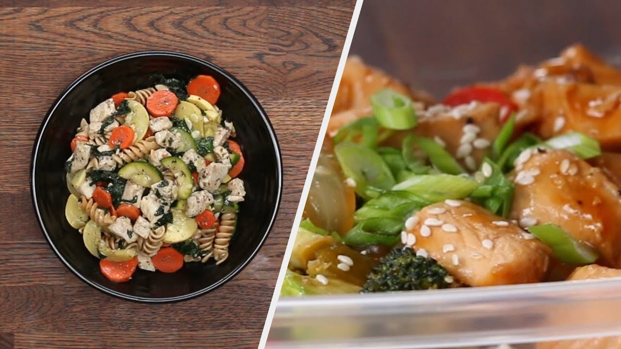 4 Meal Prep Chicken Recipes For The Week Ahead •Tasty