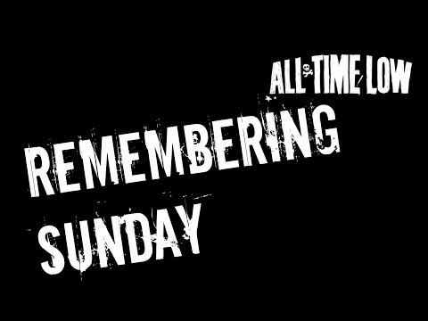 Rembering Sunday (Karaoke + Lyrics) - All Time Low