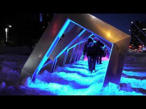 ICEBERG, interactive installation