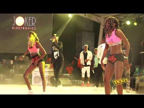 Mechans-T et Vanessa Désiré au Rap kreyòl fest