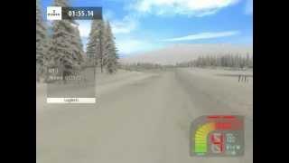 Richard Burns Rally. Finland, Sikakama(snowmod) - Citroen DS3 WRC; onboard