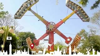 essel world thunder ride , 7 wonders of mumbai amusement park , maharastra tourism