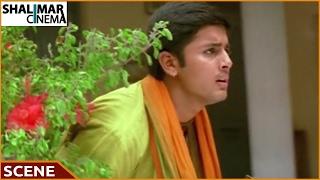 Sri Anjaneyam Movie || Nithin & Charmi Love Scene || Nithin || Charmi