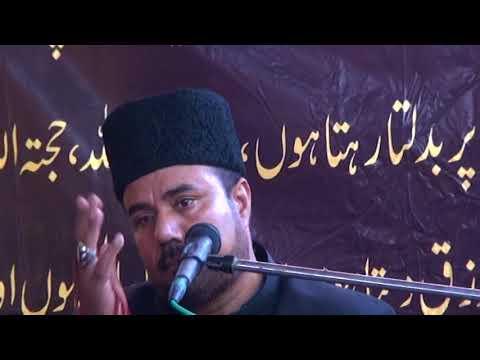 Allama Imran Abbas Mazahari Yadgaar Majlis at Tando Jam on 28 Muharrum-Al-Haram 19-10-2017