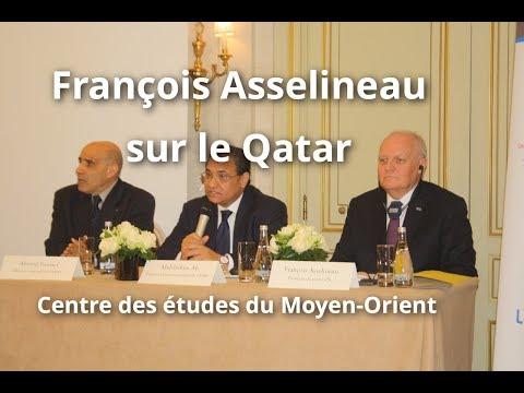 François Asselineau sur les privilèges du Qatar - Colloque du Centre des études du Moyen-Orient
