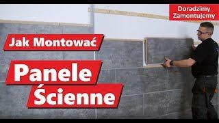 Jak Montować Panele Ścienne WallDesign  Zobacz film montażowy paneli dekoracyjnych na ścianie