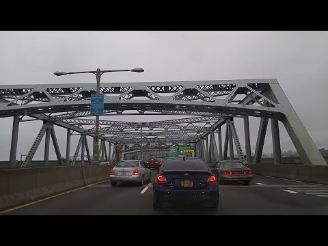 Driving from Riverdale in the Bronx to Woodside in Queens,New York
