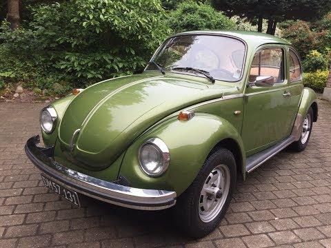 """1974 VW 1303 Big """"Super Beetle"""""""