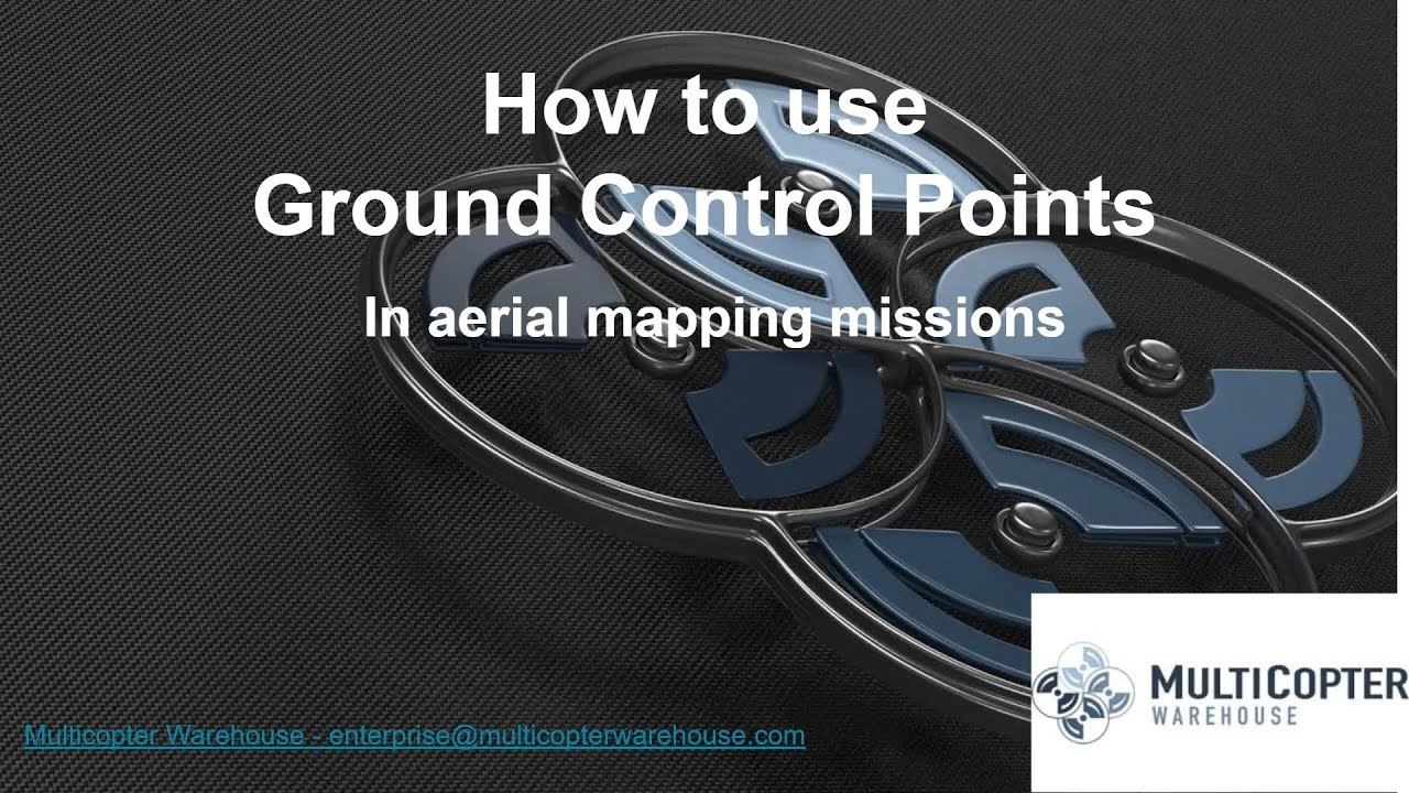 Using Ground Control Points with Mapping Missions