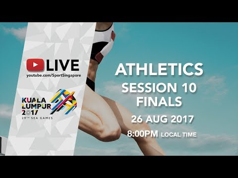Athletics Session 10 Finals | 29th SEA Games 2017