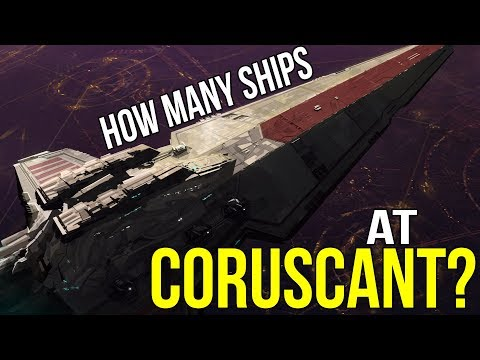 How Many Ships Were at the Battle of Coruscant? | Star Wars Legends Lore