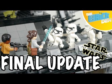 LEGO First Order Mon Cala Communications Base MOC-Final Update