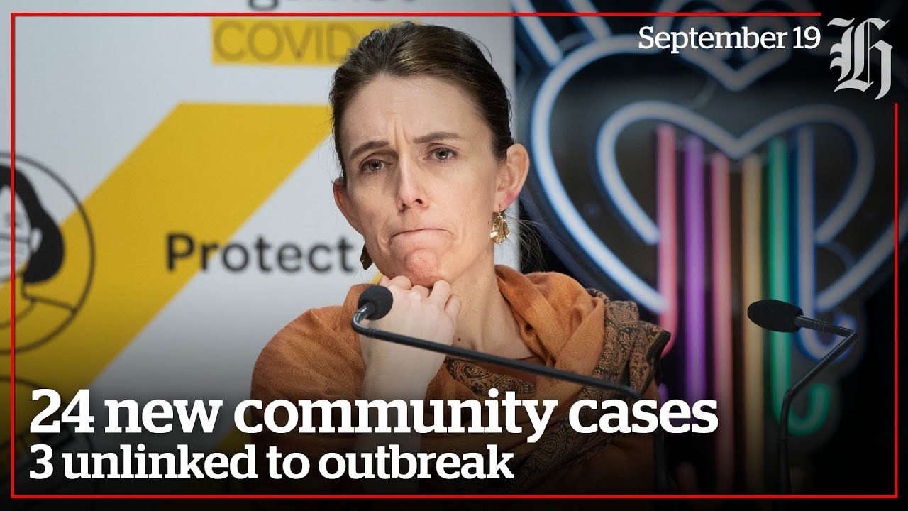 Covid19 24 new community cases  3 unlinked to outbreak