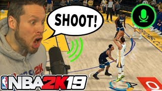 Can You Play NBA 2K19 With Voice Commands