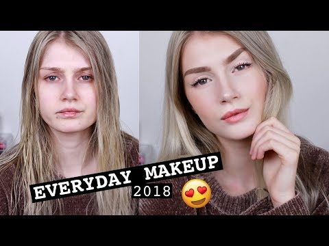 Everyday Makeup Routine 2018 | Natural, Quick & Long Lasting