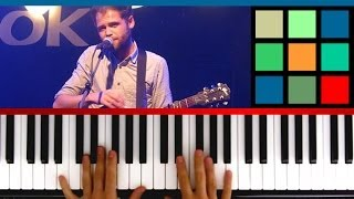 how to play let her go piano tutorial sheet music passenger