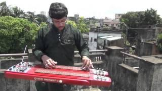 Tu Hi Re On Instrumental ElectricSteelGuitar By Pramit Das Bombay1995Hariharan,Kavita Krishnamurthy