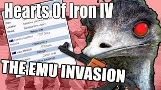 Hearts Of Iron IV THE EMU INVASION