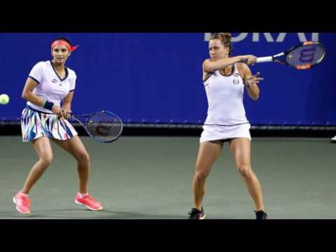 Sania Mirza-Barbora Strycova lose in Wuhan Open final