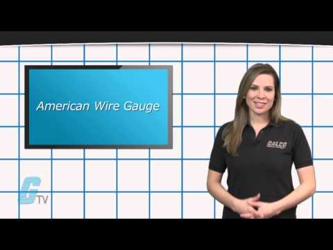 American Wire Gauge (AWG) Standards - A GalcoTV Tech Tip
